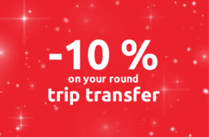 10% off on your round-trip transfer