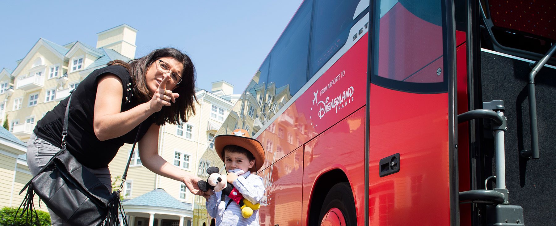 Disneyland Bus