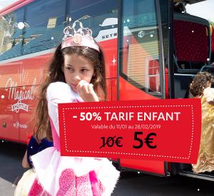 -50% tarif enfant